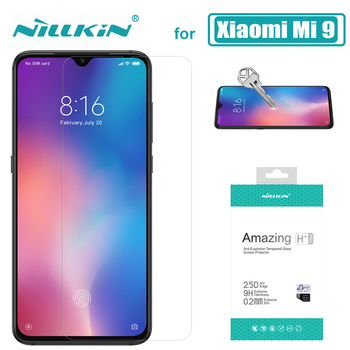 for Xiaomi Poco X3 NFC Mi 9 Lite Mi9T Glass Nillkin 9H Tempered Glass Screen Protector Xiaomi Mi 9T 9 8 SE 6 Redmi K30 K20 Pro