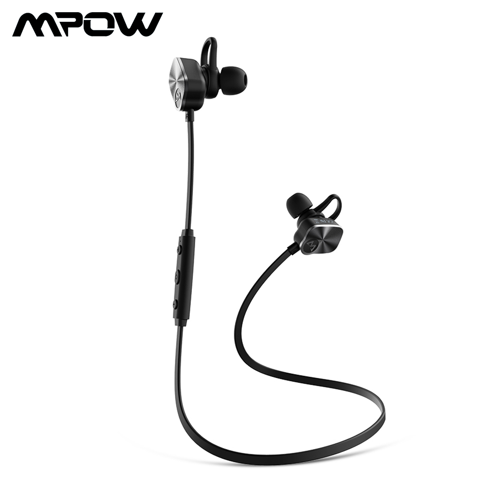 где купить Mpow BH29 Coach Wireless Bluetooth 4.1 Headphones Stereo Sweatproof Headset With Builtin HD Mic Stereo Handsfree Sport Headphone дешево