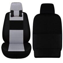 Car ynooh 2pcs car seat cover for mitsubishi outlander xl pajero 2 4 lancer 9 10 asx sport colt carisma cover for vehicle seat недорого