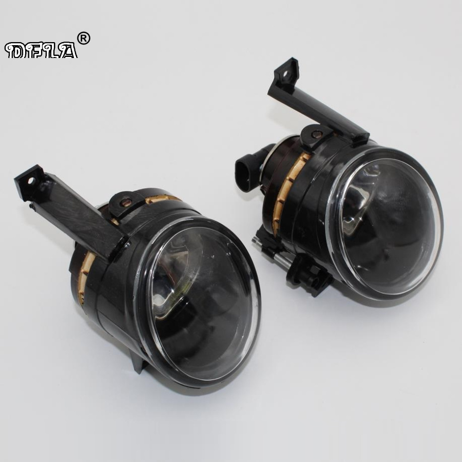 For VW Polo Sedan 2011 2012 2013 2014 2015 2016 Car-styling Front Bumper Halogen Fog Lamp Fog Light With Bulbs front fog lights for nissan qashqai 2007 2008 2009 2010 2011 2012 2013 auto bumper lamp h11 halogen car styling light bulb