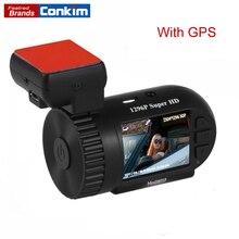 Conkim Dash Cam мини 0805 P автомобильный DVRs Авто рекордер 1296 P Автомобильная камера Full HD Pro конденсатор Скрытая Dashcam GPS видеорегистратор высокого разрешения камера