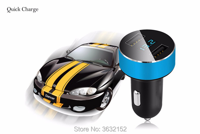 Car Charger <font><b>3</b></font>.1A Dual <font><b>USB</b></font> Fast Charge Voltage Detection Cigar Lighter For mazda <font><b>3</b></font> 6 <font><b>2</b></font> <font><b>5</b></font> CX-<font><b>5</b></font> CX-7 CX-<font><b>3</b></font> 323 ATENZA Axela image