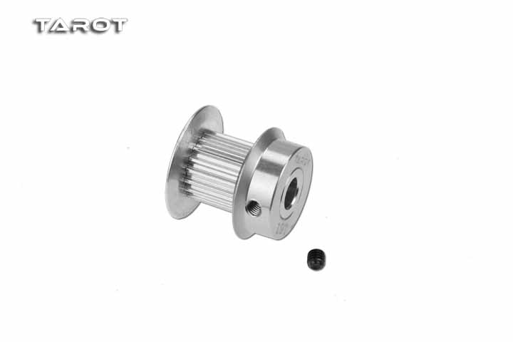 Tarot 380 Motor Belt Gear 19T / 20T / 21T / 22T / 24T 7075 Aluminum Alloy For RC Drone Toy Spare Parts