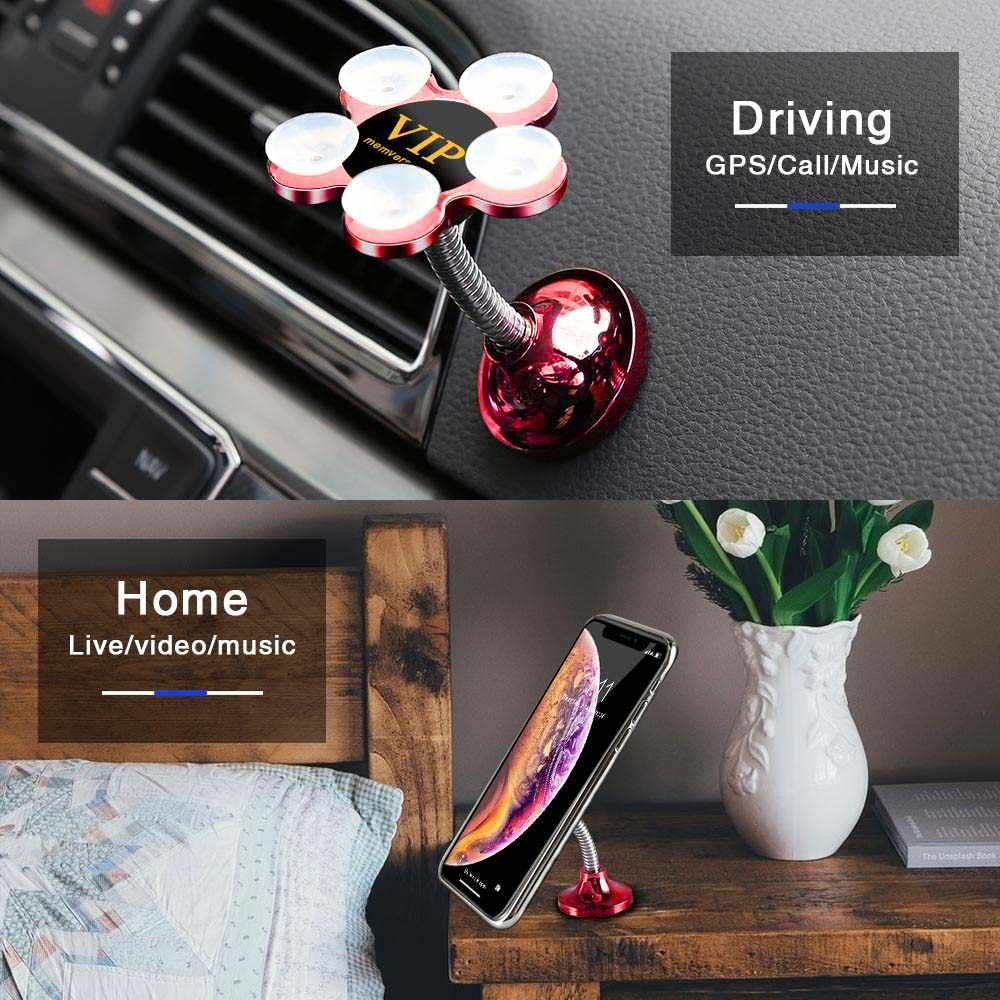CASEIER Magic Sucker Car Phone Holder Universal Phone Stand In Car Desk Wall Holder For iPhone Huawei Stand For Samsung Xiaomi