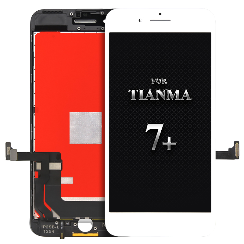 For tianma quality screen 5pcs For iPhone 7 plus LCD Without Dead Pixel LCD Display Assembly