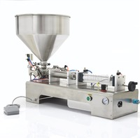 Cream Filling Machine G1WY Oil Filling Machine 50 500ml With 1 Tube Pneumatic 220V 50HZ