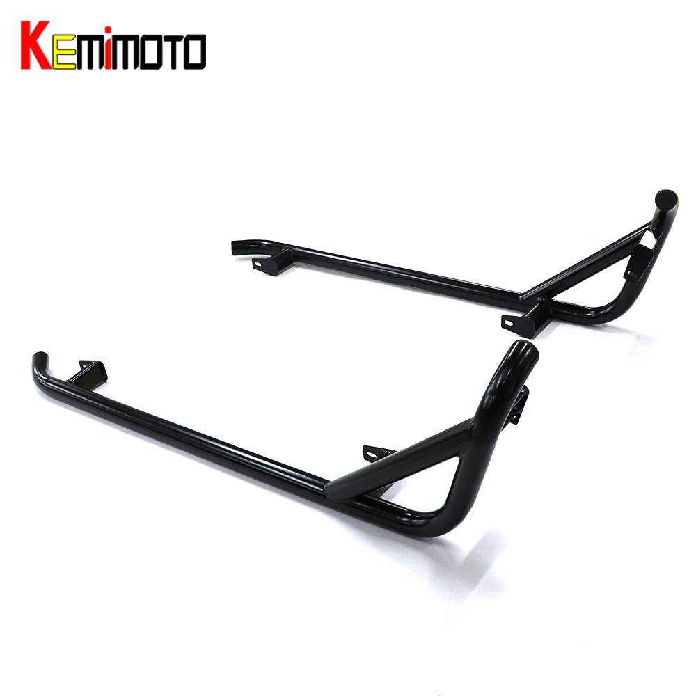 KEMiMOTO Side Nerf Bars Rock Slide For Polaris RZR 900 RZR S 1000 RZR XP 1000 S 900 Trail 900-S XP1000 For Turbo 2014 2015-2018 black shallow cut turbo hood scoop air intake for 2014 2018 all polaris rzr s xp xc 900 4 1000 models