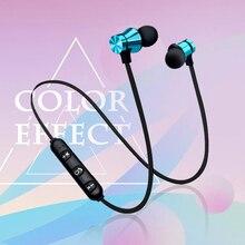 XT-11 магнитные Bluetooth наушники V4.2 стерео спортивные водонепроницаемые наушники беспроводные наушники-вкладыши гарнитура с микрофоном для iPhone