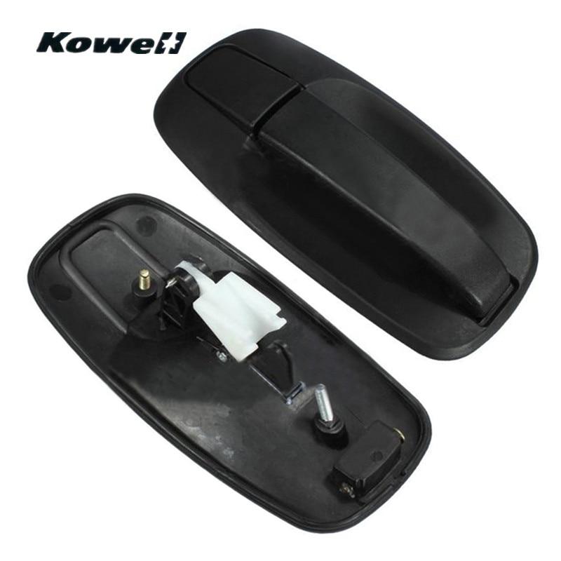 KOWELL Black Back Rear Side Black font b Interior b font Door Handles for Renault Trafic