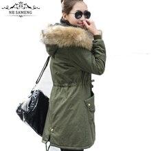 Women Faux Fur Warm Parka Camuflaje Militar Chaquetas Women's Long Camouflage Coat Hooded Winter Jacket Thicken Solid Abrigos