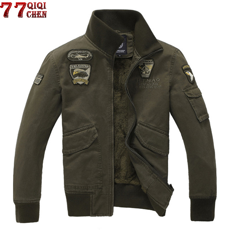 AFS JEEP Jacket Men Military Coat Solid Male Autumn Jacket Casaco Masculino Casual Brand Jackets Men