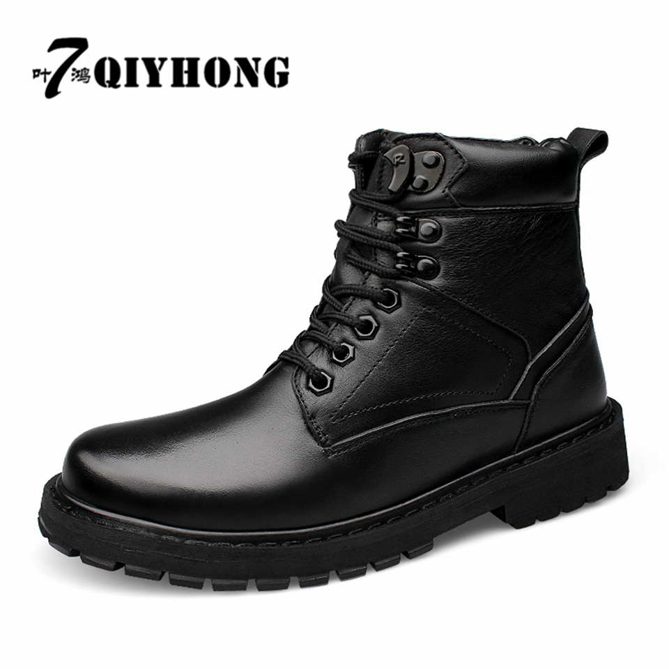 Large Size 38-50 Brand Spring/Autumn Fashion Men's Chelsea Boots,British Style Fashion Ankle Boots,Black Leather Casual Shoe