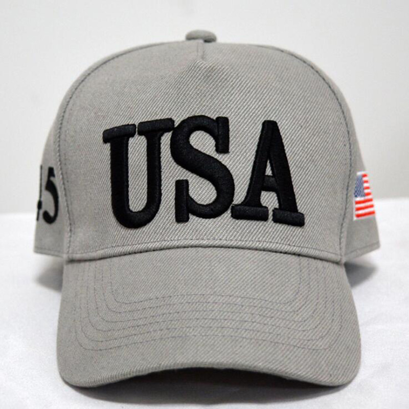USA Letter Embroidery Hat Trump Cap GOP Republican Adjust Baseball ... 66293ef0247e