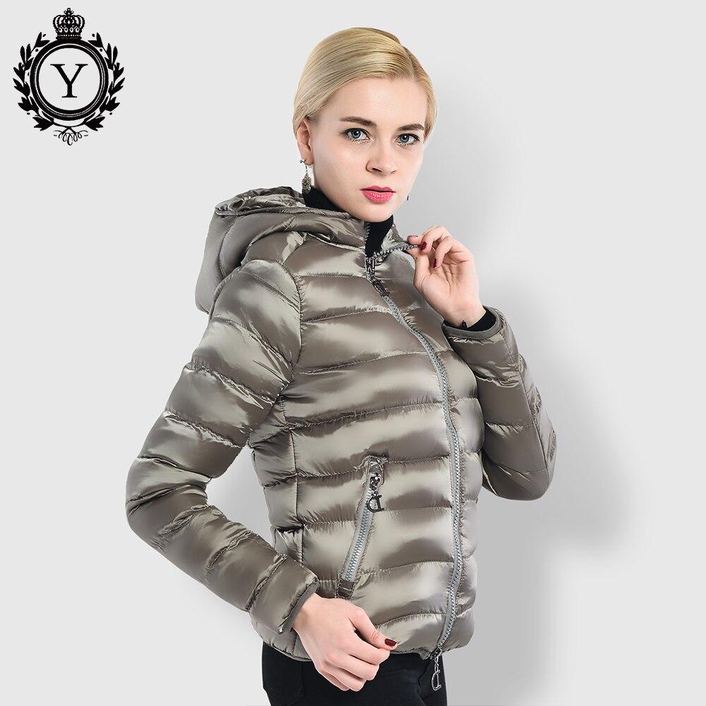 COUTUDI Women s Winter Jacket Clothing Solid Khaki Female Coats Ukraine Style Short Jackets High Quality