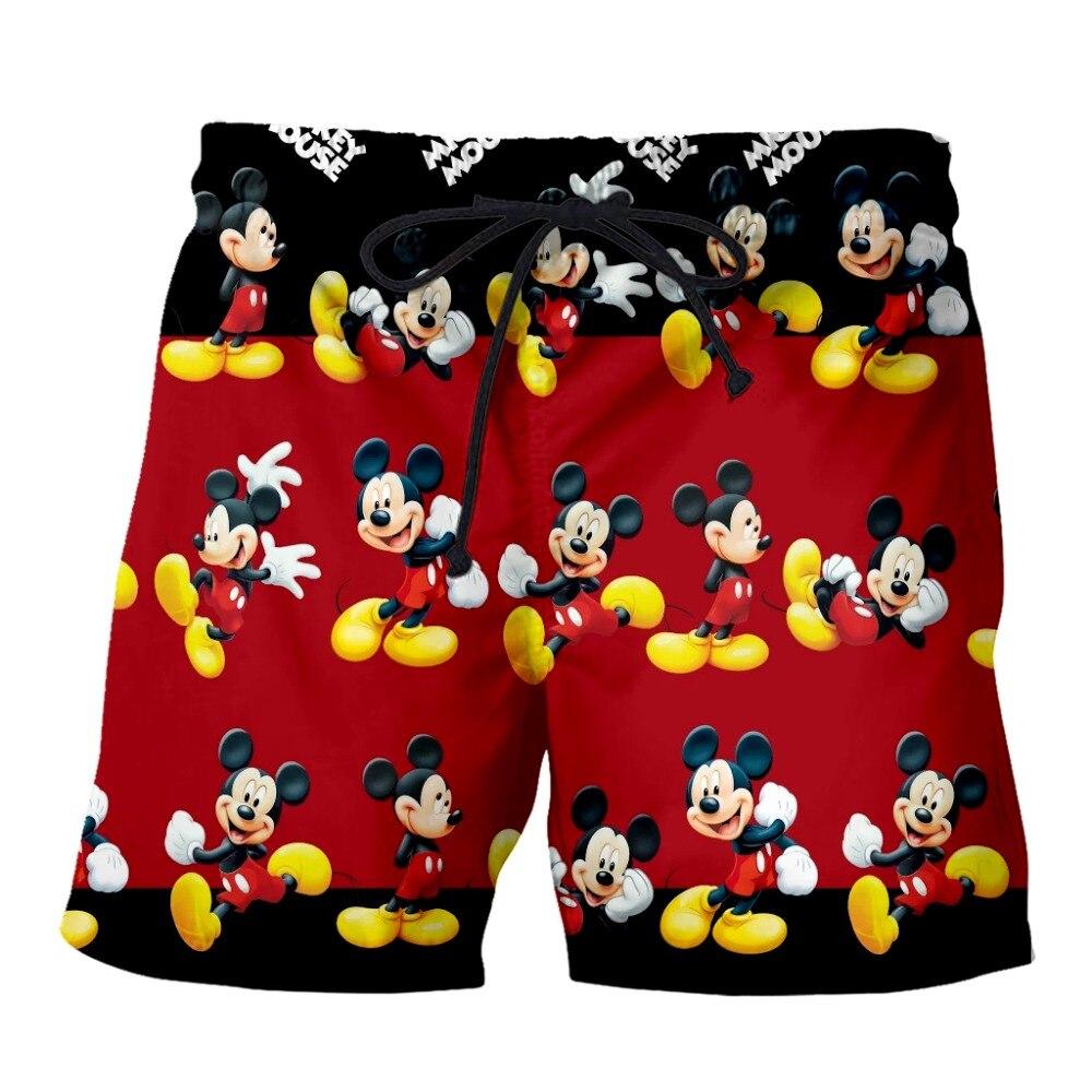 PLstar Cosmos 2019 Summer Men Funny Cartoon Mouse Shorts  3D Trousers For Women/Men Regualr Shorts  Plus Size S-7XL