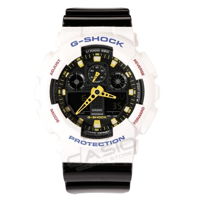 cf9f98a7d0a CASIO G-SHOCK WATCH Mens Watches Fashion Clock Quartz Watch Male Camouflag  Relogio Masculino Mechanical feeling cool GA-100A-9A