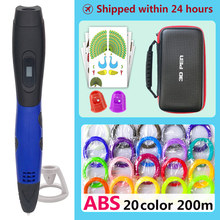 3d pen pens,1.75mm ABS/PLA Filament,new Year gift Kids birthday present Christmas,3 d model,Creative printing