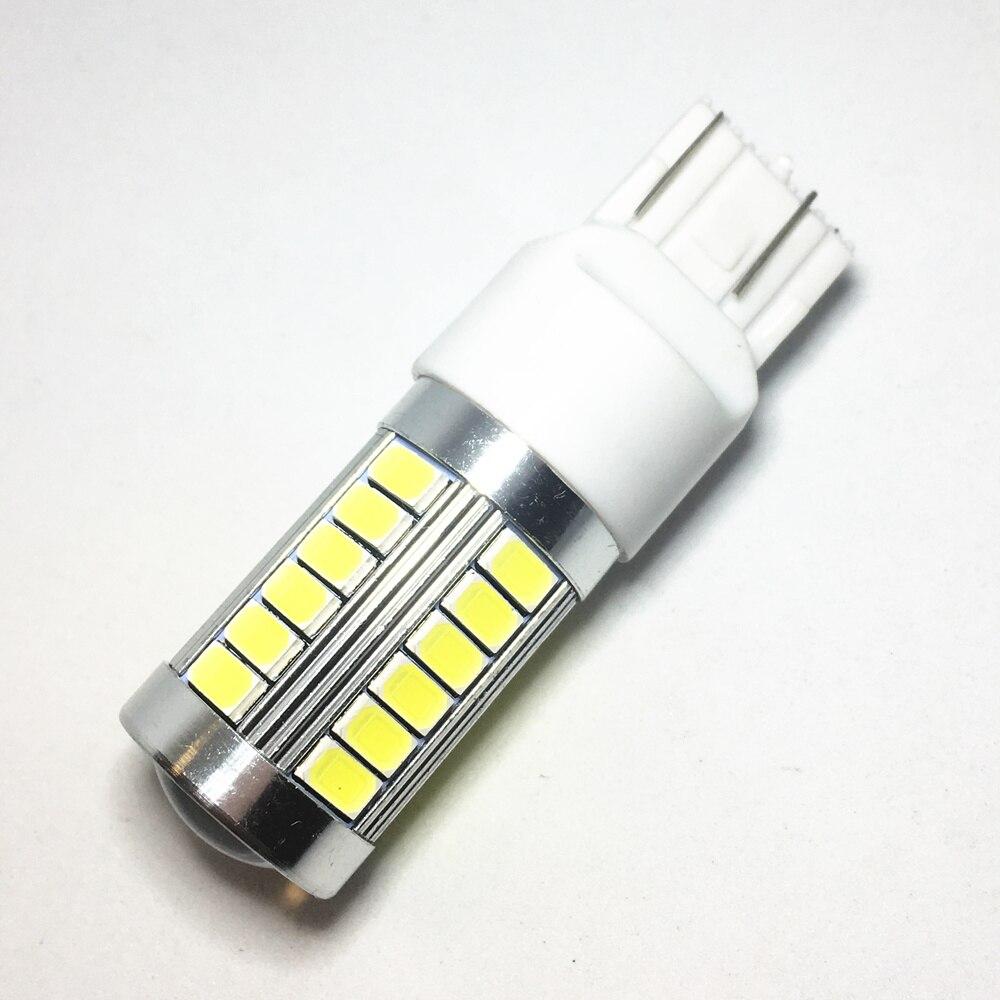 1 шт., автомобильные светодиодсветодиодный фонари заднего хода T20 7440 W21W WY21W, 33 smd 5730 5630