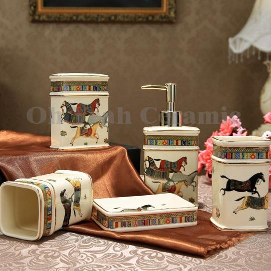 Aliexpress.com : Buy Porcelain bathroom sets ivory ...