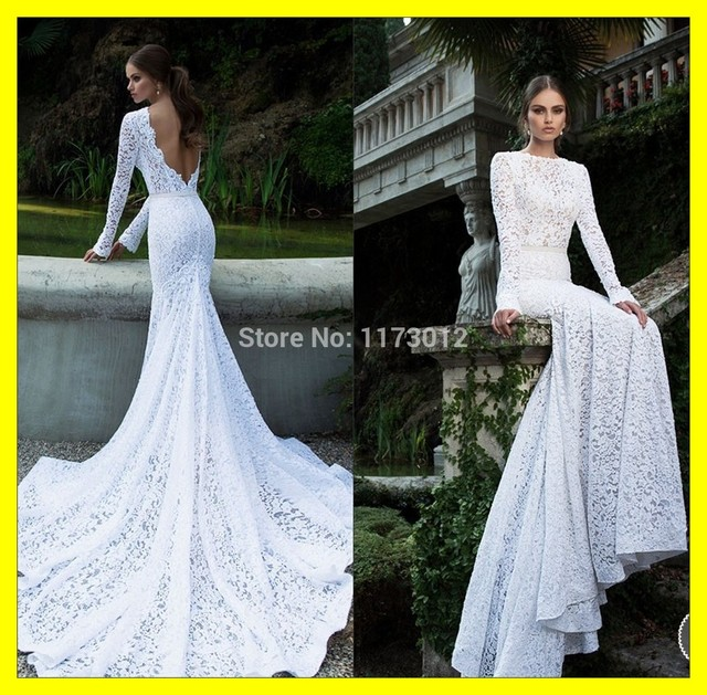 Casual white mermaid dress