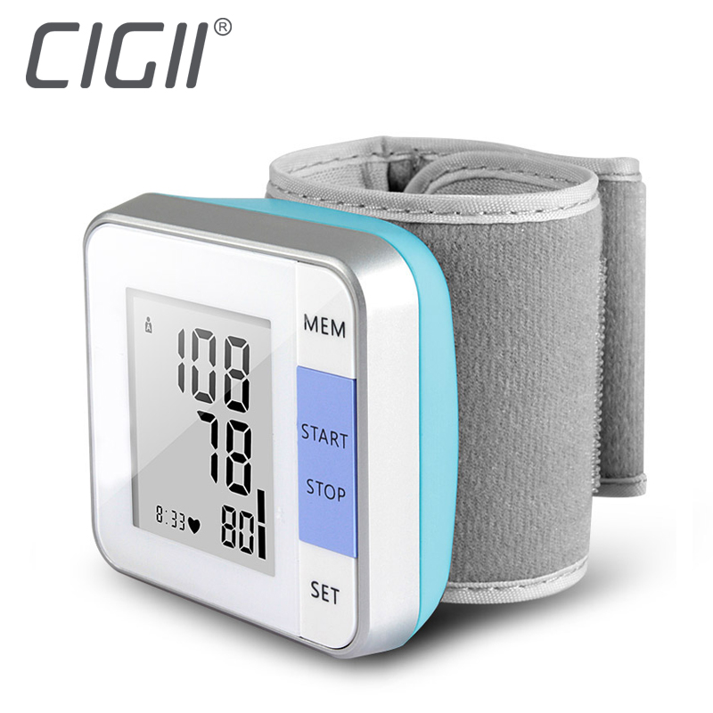 Cigii 1 PCS Heartbeat test Heart rate monitor Smart digital display bracelet Healyh Care Wrist blood