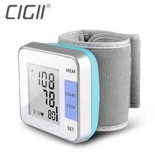 Cigii 1 шт. сердцебиение тест пульсометр Умный Цифровой Дисплей Браслет Healyh уход за запястье кровяное давление монитор