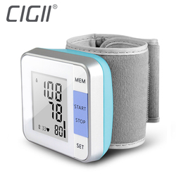 Cigii 1 PCS Heartbeat test Heart rate monitor Smart digital display bracelet Healyh Care Wrist blood pressure Monitor