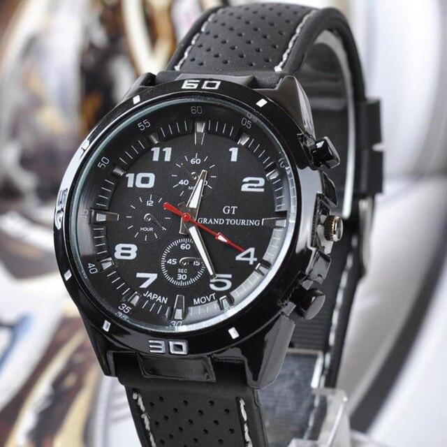 Top Luxury Brand Fashion Military Quartz Watch Men Sports Wrist Watches Clock Hour Male Relogio Masculino 8O75 1