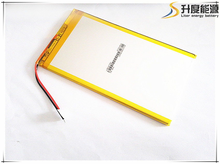 Free shipping 3.7V,4190mAH,[3473131] Polymer battery 9 inches tablet battery domestic th ...