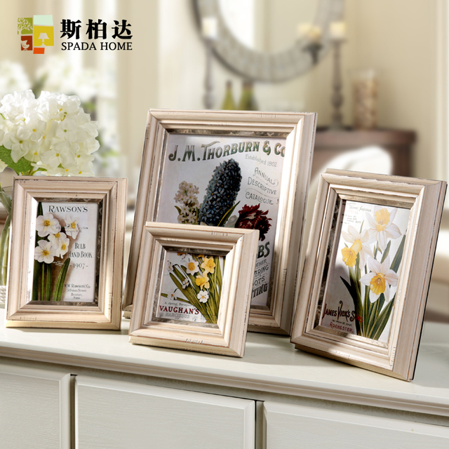 Very High Quality 46710 Inch Square Rectangle Wood Photo Frame