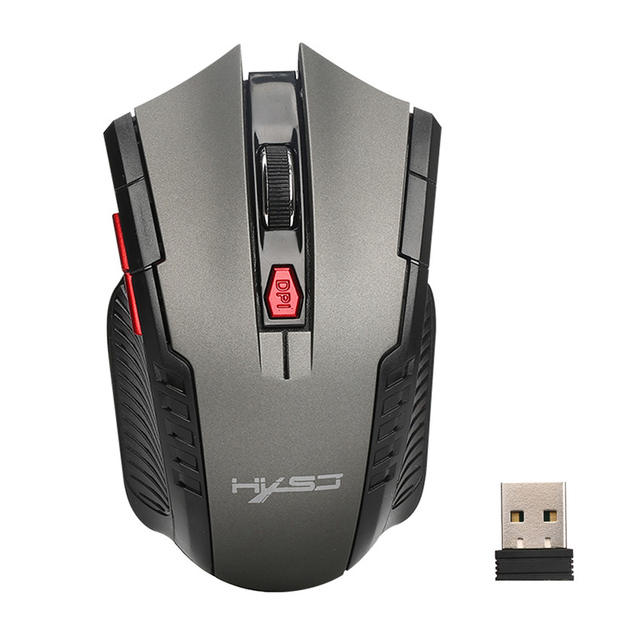 Malloom 2017 New Arrival Mouse Portable 6 Buttons 2.4Ghz Wireless Optical Gaming Mouse Gamer Mice For PC Laptop Computer Pro