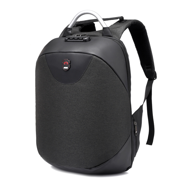 TFTP-15.6 inch Laptop USB Anti-theft Waterproof Casual Travel Business Backpack