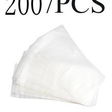 200 шт. несколько размеров PVA сумки для ловли карпа снасти для растворения воды PVA мешки для карпа грубые шарики для прикорма рыбы сумка для наживки метания