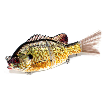 Stone Forest Fishing Lure 14CM 38G 2# 2 Segments Vibration Fish Swimbaits Simulation Carp Peche Bass Fishing Tackle Crankbaits
