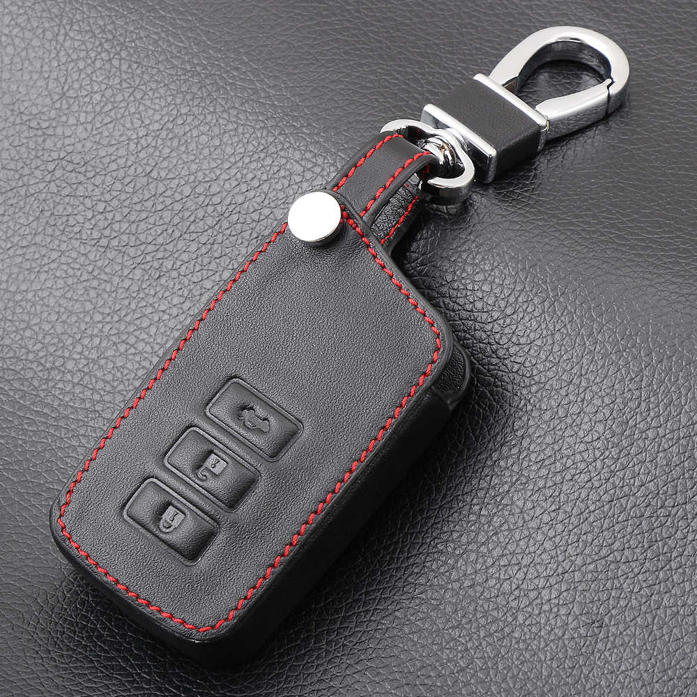 AndyGo Car styling  Leather Key Cover Case For Lexus NX GS RX IS ES GX LX RC 200 250 350 LS 450H 300H Auto Accessories