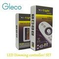 1 conjunto Mi. Light 2.4G 4-Zone LED de controle Sem Fio RF Remote Control & LED Strip Controlador dimmer para única cor tira conduzida