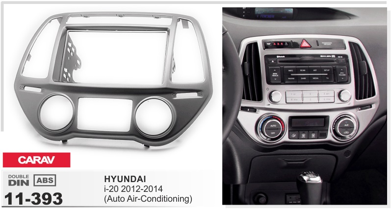 Frame android 6 0 font b car b font dvd for hyundai i 20 I20 2012
