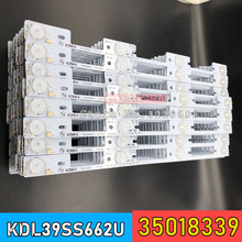 Nouveau 100 Pièces LED rétro éclairage barre pour KONKA KDL39SS662U 35018339 35018340 327mm 4 LED s( 1 LED 6V)