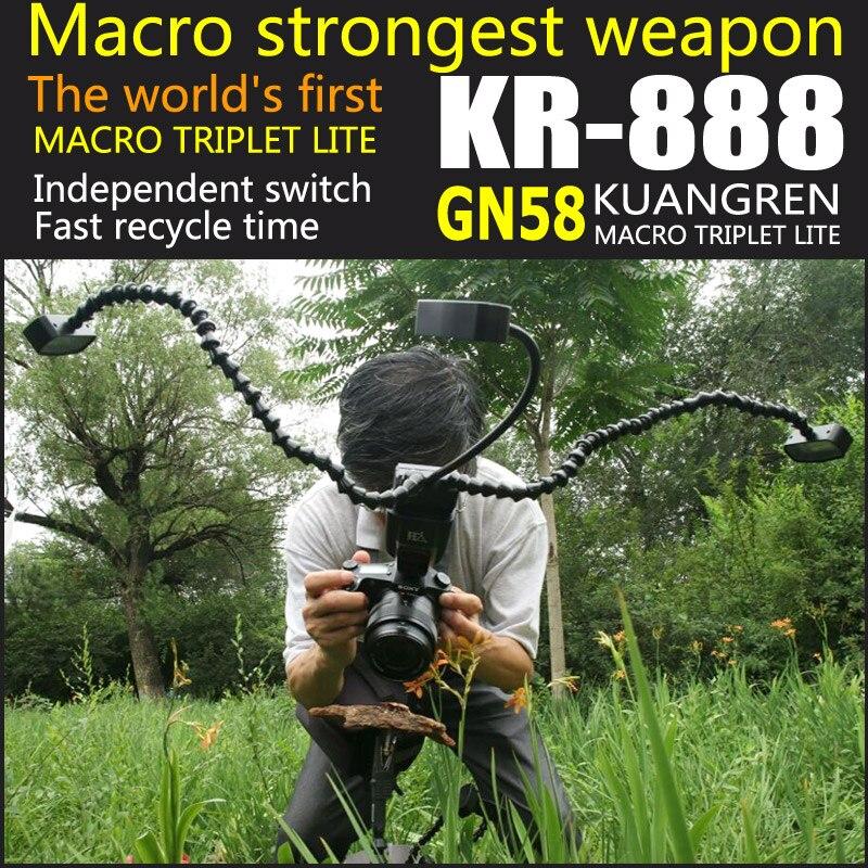 Das weltweit erste kuangren K-888 einziehbare Makro-Blitzlicht - Kamera und Foto - Foto 1