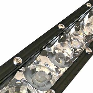 Image 5 - Slim Curved Led Light Bar For Car 12V 24V 4x4 Off road 4WD Atv Suv Trucks Combo Beams Barra Led Driving Work Lights