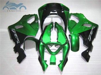 Custom as you need fairing kits for KAWASAKI Ninja ZX7R 1996 1997-2003 ABS plastic fairings kit ZX 7R 96-03 dark green bodyworks