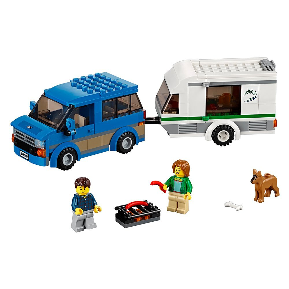 City Vehicles Van Caravan LEPIN Building Blocks Sets Bricks Classic Model Kids Toys For Children Technic Gift Compatible Legoe dayan gem vi cube speed puzzle magic cubes educational game toys gift for children kids grownups