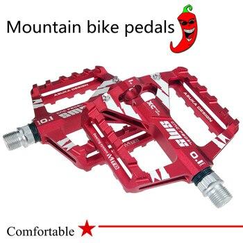 1 par de bicicleta de carretera de aleación de aluminio pedales ultraligero...