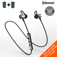 S60 Super Bass Wireless Bluetooth Earphones Sport Bluetooth Headphone Metal Magnetic Blutooth Headset With Mic Earbuds