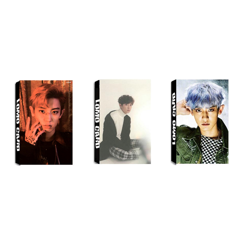 Yanzixg Kpop Exo Album Lotto Self Made Paper Lomo Card Photo Card Poster Hd Photocard Fans Gift Collection Jewelry Findings & Components