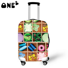 Buy one get one free ONE2 Design Small adorn article Printing Cover Apply to 22,24,26 Inch Suitcase export women Luggage cover