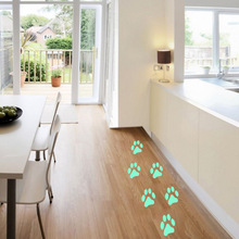 Dog Paw Prints Luminous Wall Stickers