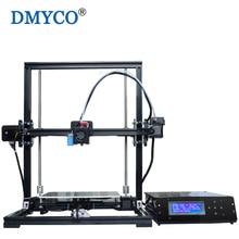 İyi Marka Uygun Yüksek Hassasiyetli DIY Kiti 220*220*300mm i3 LCD Ekran Siyah Alüminyum 3D Yazıcı güncellenmiş Extruder Reprap