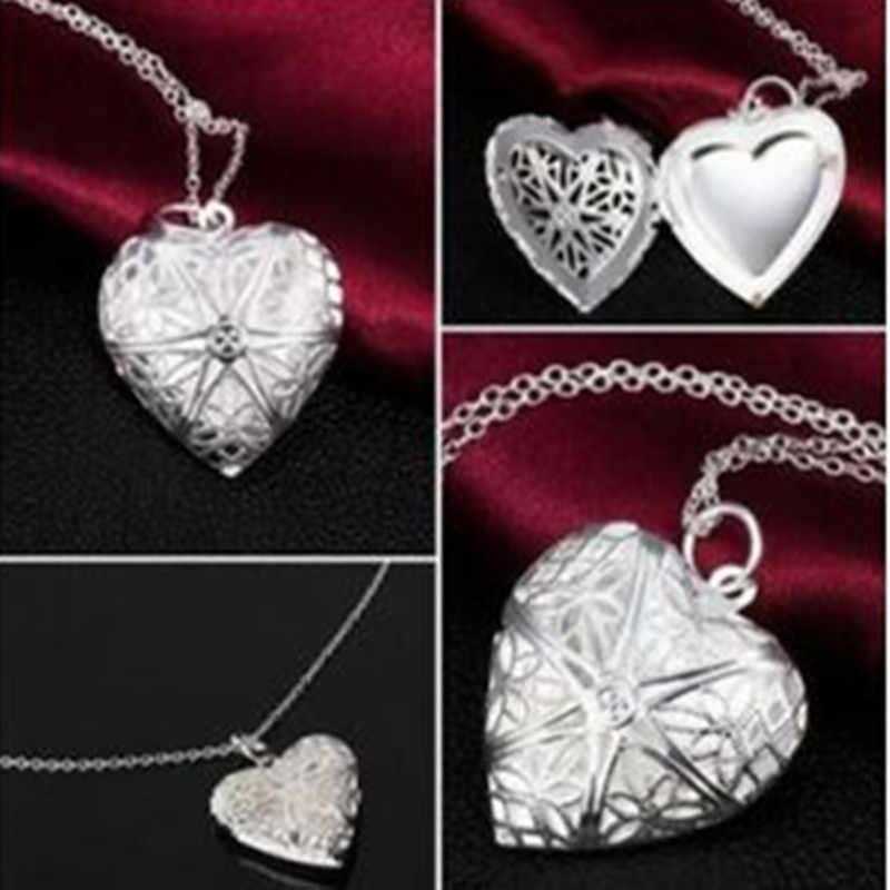 Boho Luminous Hollow Love Heart สร้อยคอ Glowing In The Dark สร้อยคอจี้เครื่องประดับวันวาเลนไทน์ของขวัญ Exo