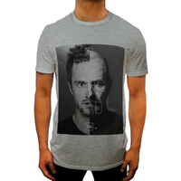 Summer Fashion Style T Shirt For Mens FACES BREAKING BAD Top Walter White SINGLET T SHIRT
